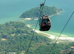 التليفريك - جزيرة لانكاوي -ماليزيا
