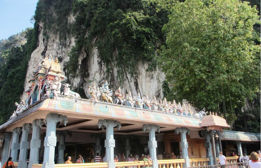 معبد الباتوكيف الهندي في ماليزيا - معلومات ماليزيا - سياحة ماليزيا - اماكن سياحية في ماليزيا