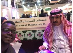 مشاركة شركة السقاف في معرض دبي الدولي مع وزارة السياحة و الوزير السياحي الماليزي. -ماليزيا