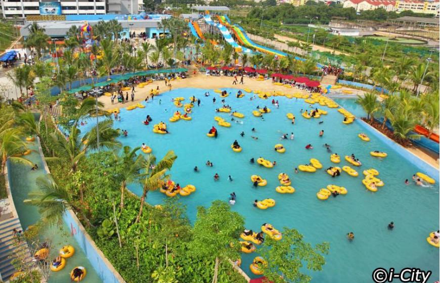 مدينة الاضواء و الجليد في سلانجور ماليزيا - معلومات ماليزيا - سياحة ماليزيا - اماكن سياحية في ماليزيا