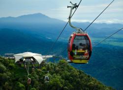 التلفريك في لنكاوي -ماليزيا